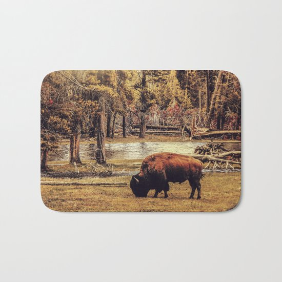 BUFFALO AND RIVER Bath Mat