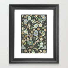 Chocolate con menta Framed Art Print