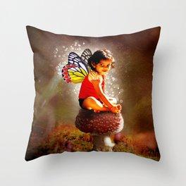 Indy Fairy Throw Pillow