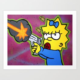 Don't Mess With Baby Art Print