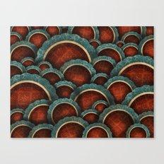 Illustrious Circles Canvas Print