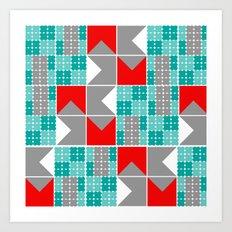 pretender, 4x2 Art Print