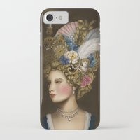 marie antoinette iPhone & iPod Cases featuring Marie Antoinette by Stephanie Sanchez