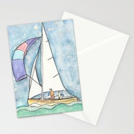 Mystic Sail Stationery Cards