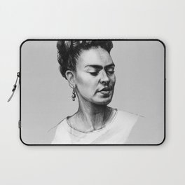 Portrait of Frida Kahlo Laptop Sleeve