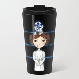 A Rebel and her Droid Travel Mug