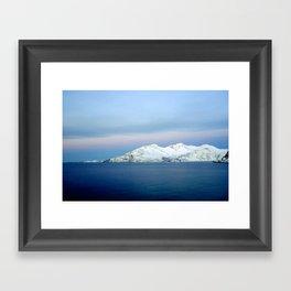 Norwegian coast 2 Framed Art Print