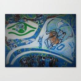 Fan Collage Canvas Print