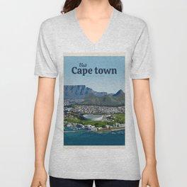 Visit Cape town Unisex V-Neck