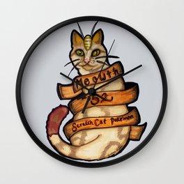 Meowth Wall Clock