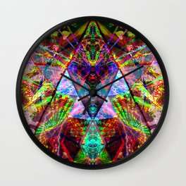 Illuminate yourself - Grime Weasel Wall Clock
