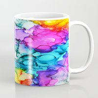 indie Mugs featuring Indie Chic by Claire Day