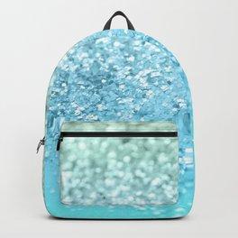Seafoam Aqua Ocean MERMAID Girls Glitter #1 #shiny #decor #art #society6 Backpack