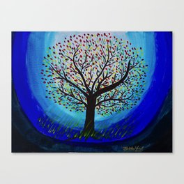 Colors of life Canvas Print