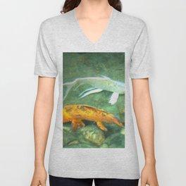 Coy Fish Unisex V-Neck