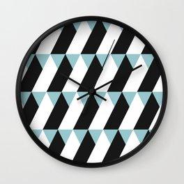 TriTriTriangle Wall Clock