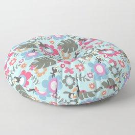 Mr Tuca blue Floor Pillow