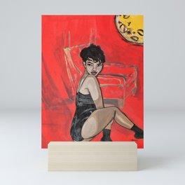 Black Lotus Rosie Mini Art Print