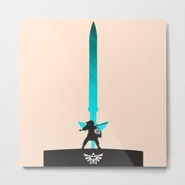 LEGEND OF ZELDA - LINK Metal Print