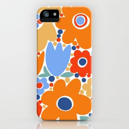 Mod Flower Patch {3} iPhone Case