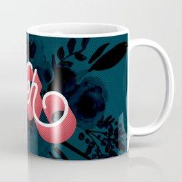 Meh floral artwork Coffee Mug