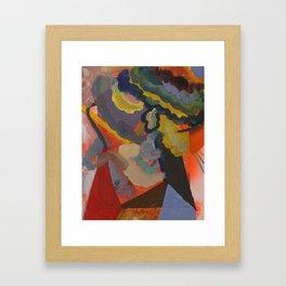 A Barn dreams of Sunsets Framed Art Print