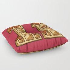 11 Eggos Floor Pillow