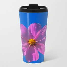 Flower Metal Travel Mug