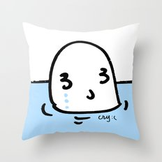cry with me Throw Pillow