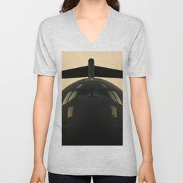 American Military Aircraft Unisex V-Neck