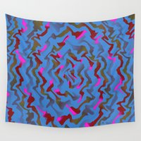 fabric Wall Tapestries featuring Fabric A by Vitta