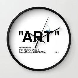 """""""ART"""" Wall Clock"""