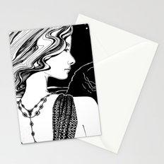 Go Black Stationery Cards