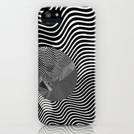 striped snail iPhone Case