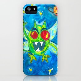 Space Monster iPhone Case