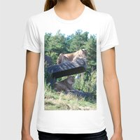 lions T-shirts featuring Lions by Art I Am