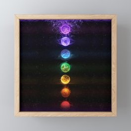 Energy Healing Framed Mini Art Print
