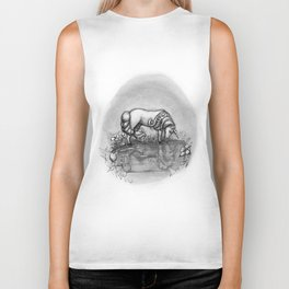 The Transformation: Elise the Unicorn Biker Tank