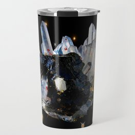 Star Aura Quartz Travel Mug