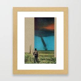 Work to Do Framed Art Print