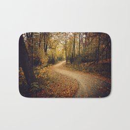 Autumn Path Bath Mat