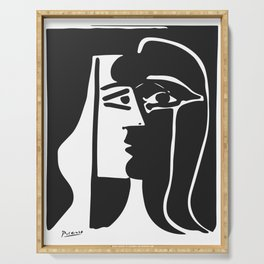 Pablo Picasso Kiss 1979 Artwork Reproduction For T Shirt, Framed Prints Serving Tray