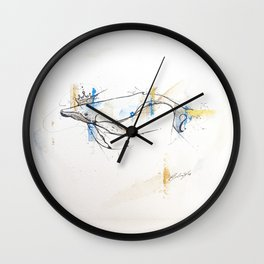 Litte Royals Series - King Whale  Wall Clock