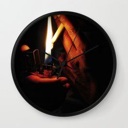 Can I have a light Wall Clock