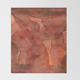 Abstract Nudes Throw Blanket