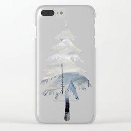 Clarity: Mt. Washington Clear iPhone Case