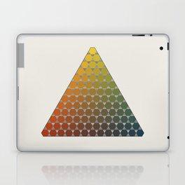 Lichtenberg-Mayer Colour Triangle vintage remake, based on Mayers' original idea and illustration Laptop & iPad Skin