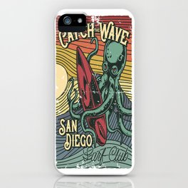 Catch the Wave iPhone Case