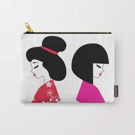 Maiko Illustration Carry-All Pouch
