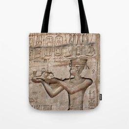 Horus and Temple of Edfu Tote Bag